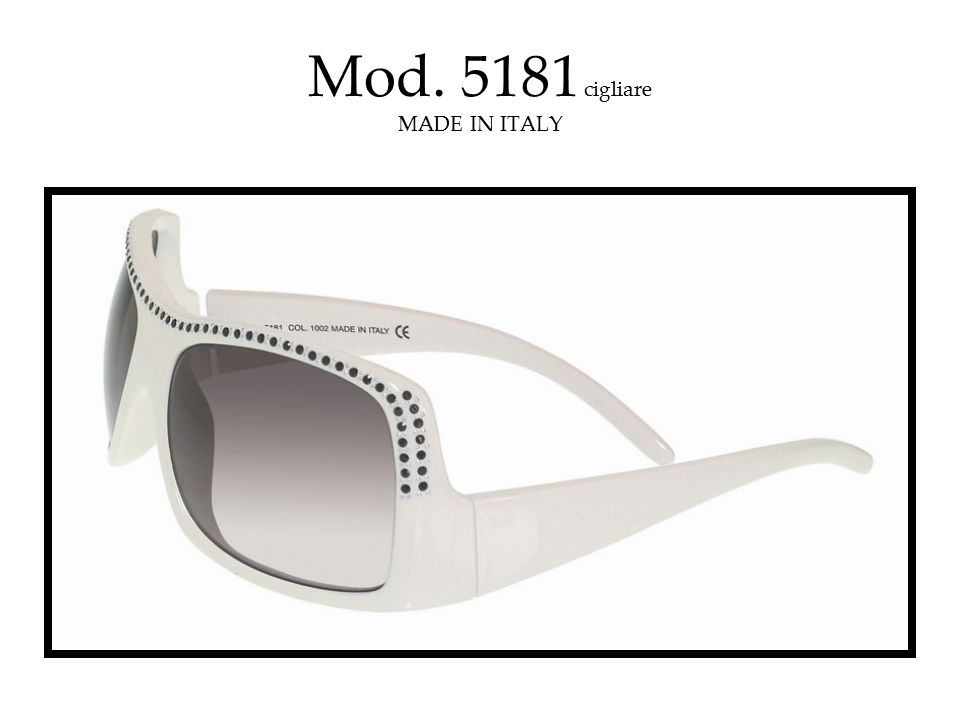 Mod. 5181 cigliare MADE IN ITALY