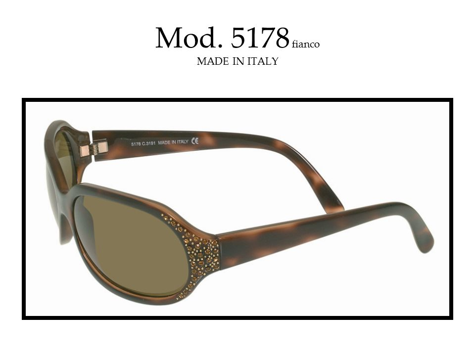 Mod. 5178 fianco MADE IN ITALY