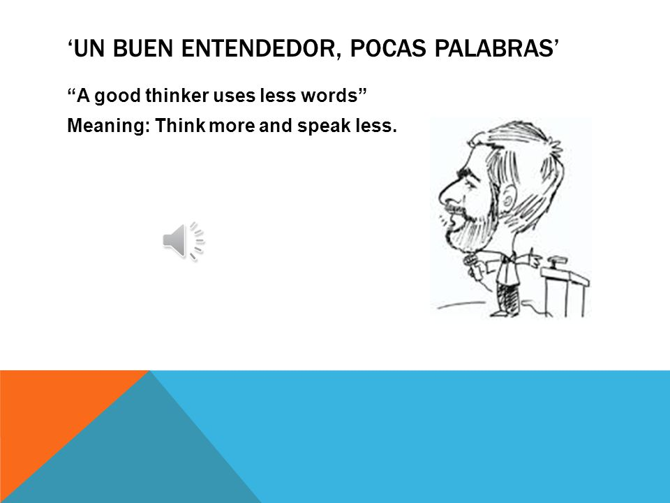 'EN BOCA CERRADA NO ENTRA MOSCO' In a closed mouth, no fly enters Meaning: A wise person is not a gossiper.