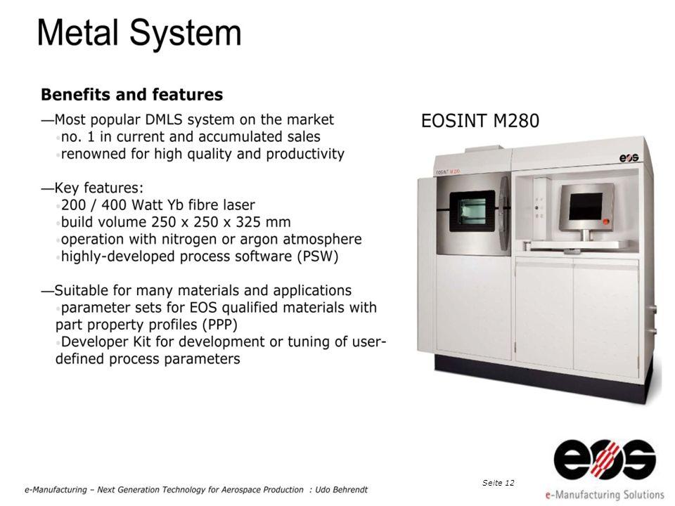 EOS 2011 at Taiwan · EOS e-Manufacturing, Dr. Peter Chiu, Detekt Inc., Seite 13
