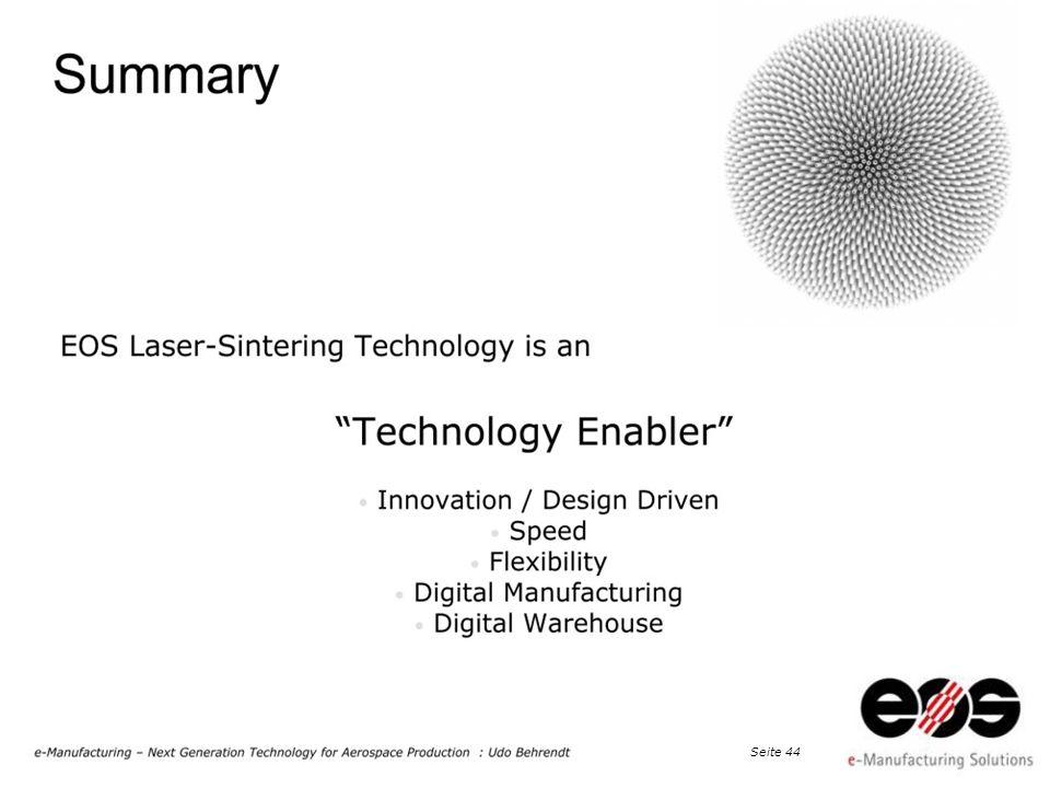 EOS 2011 at Taiwan · EOS e-Manufacturing, Dr. Peter Chiu, Detekt Inc., Seite 45