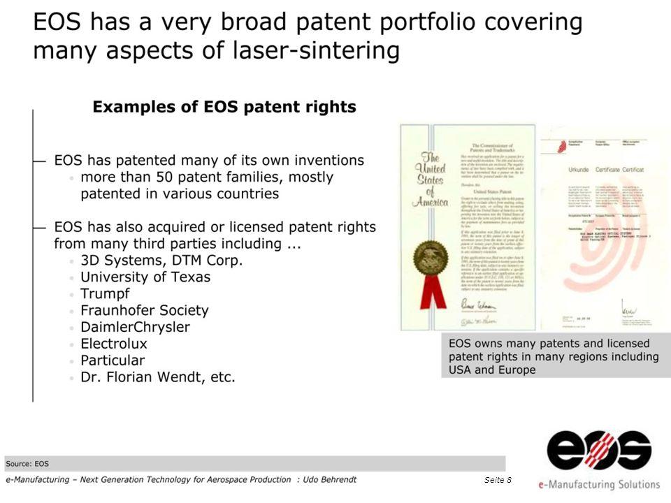 EOS 2011 at Taiwan · EOS e-Manufacturing, Dr. Peter Chiu, Detekt Inc., Seite 9