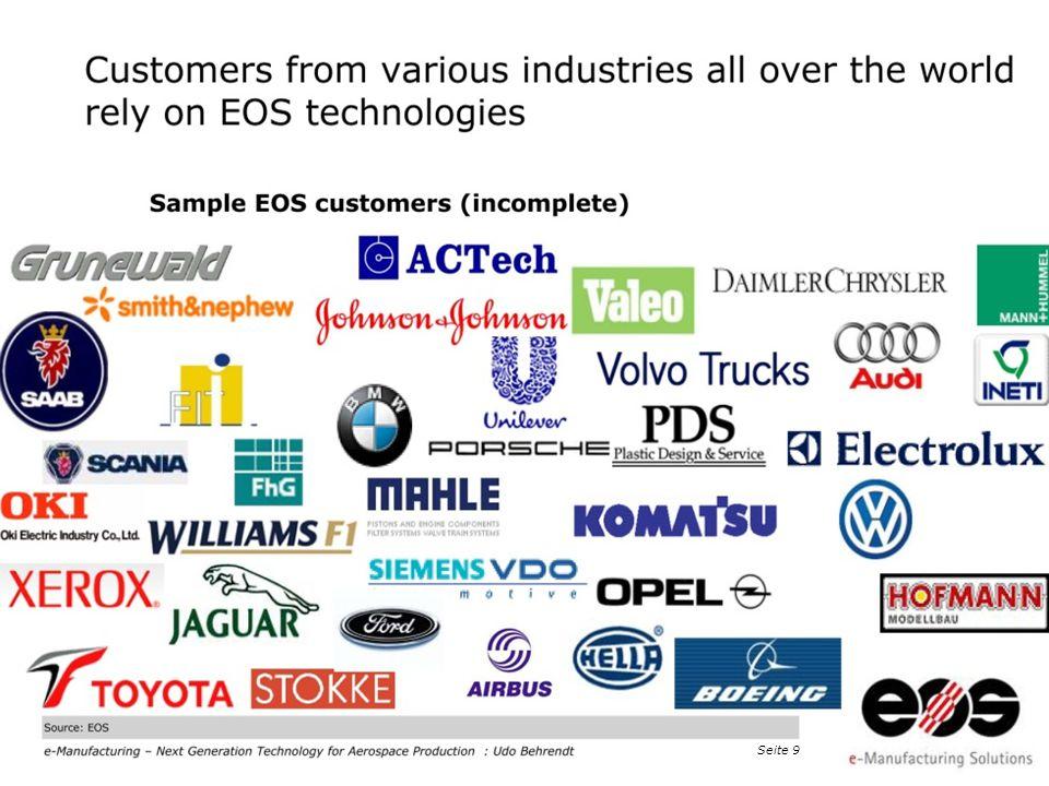 EOS 2011 at Taiwan · EOS e-Manufacturing, Dr. Peter Chiu, Detekt Inc., Seite 10