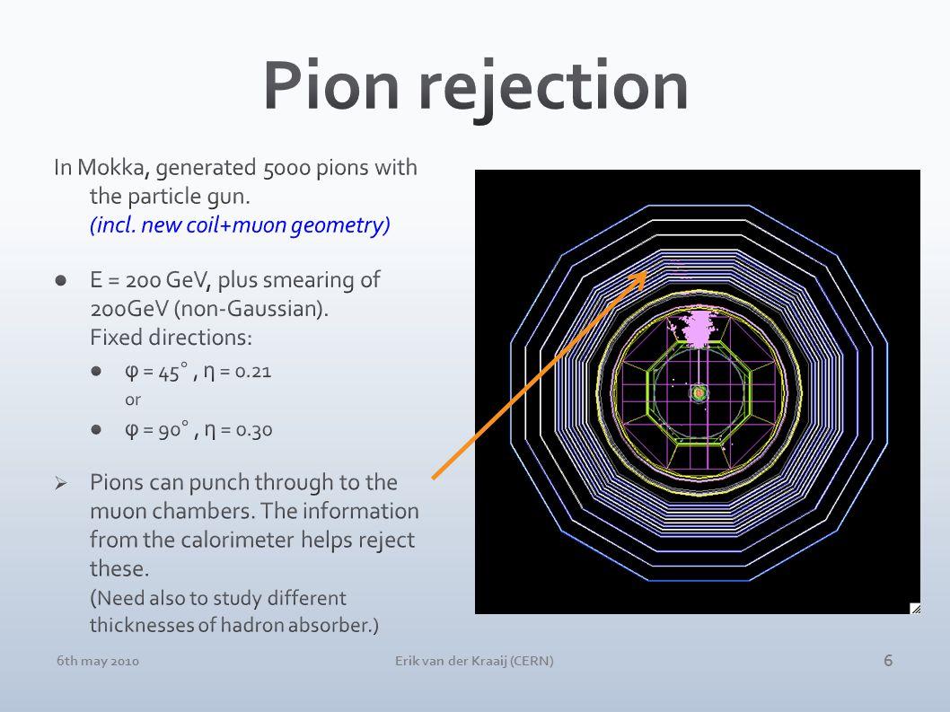 6th may 2010Erik van der Kraaij (CERN) 6