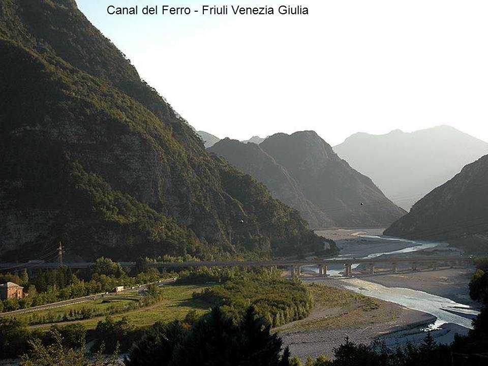 Val Tagliamento - Friuli Venezia Giulia