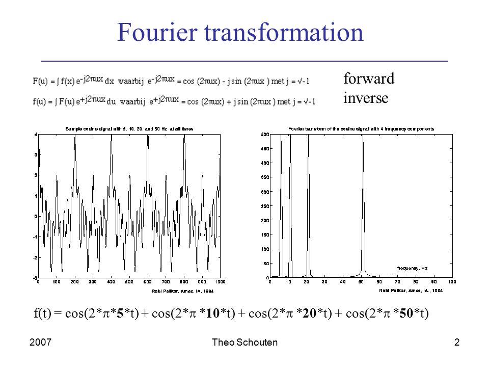2007Theo Schouten13 Example 3 scale 2D FWT