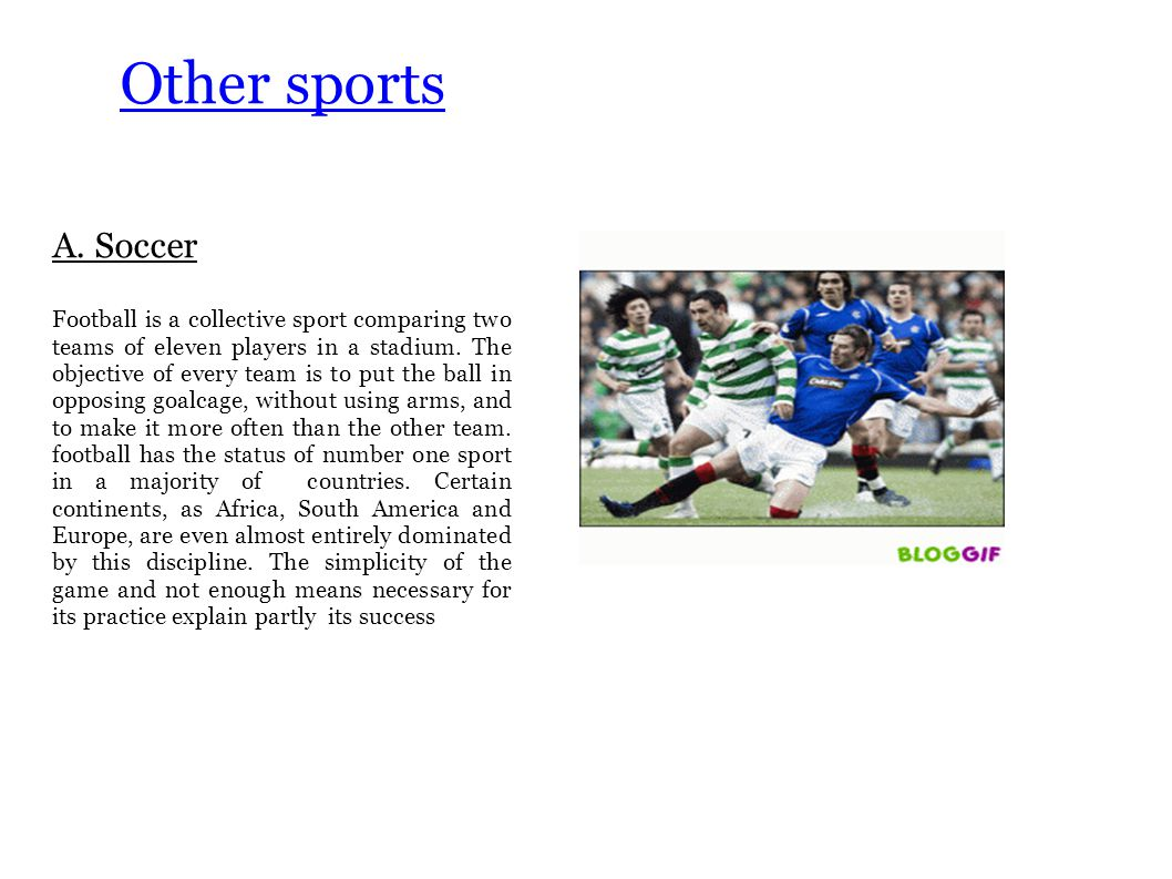 Other sports A.