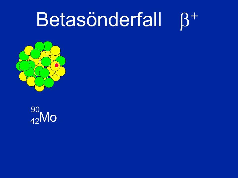 Mo 90 42 Betasönderfall  +