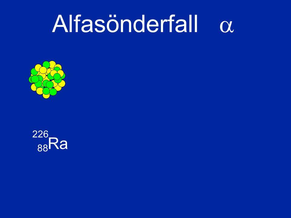 Ra 226 88 Alfasönderfall 