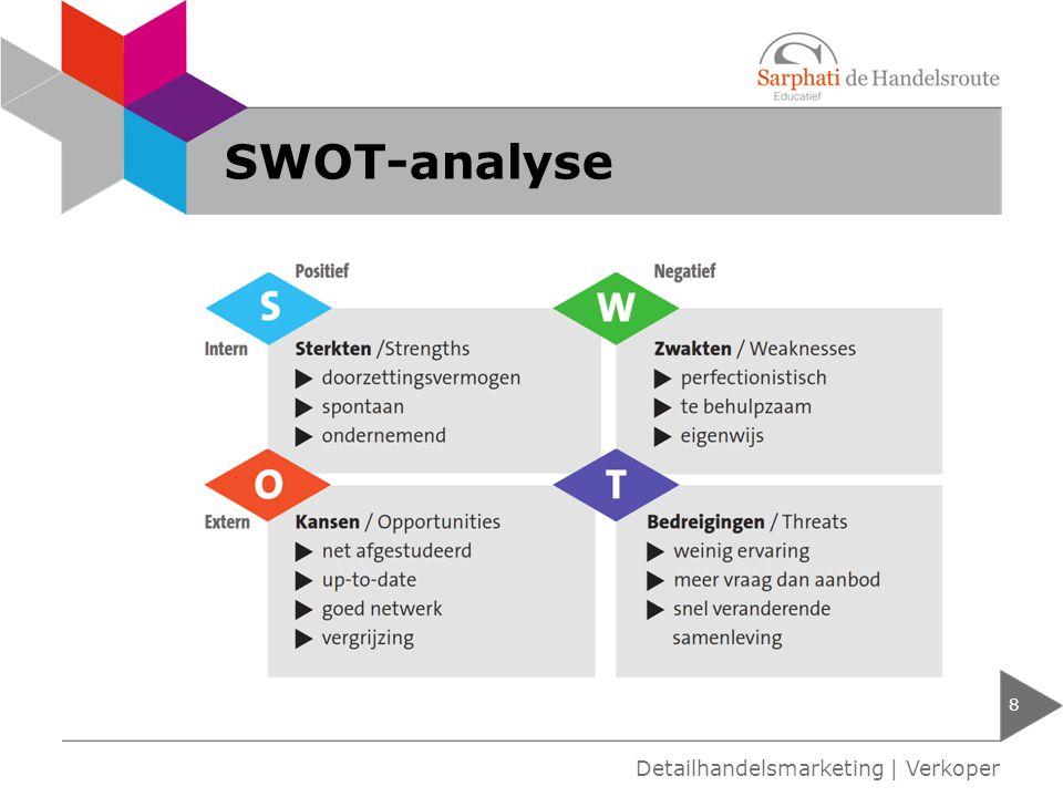 SWOT-analyse 8 Detailhandelsmarketing   Verkoper
