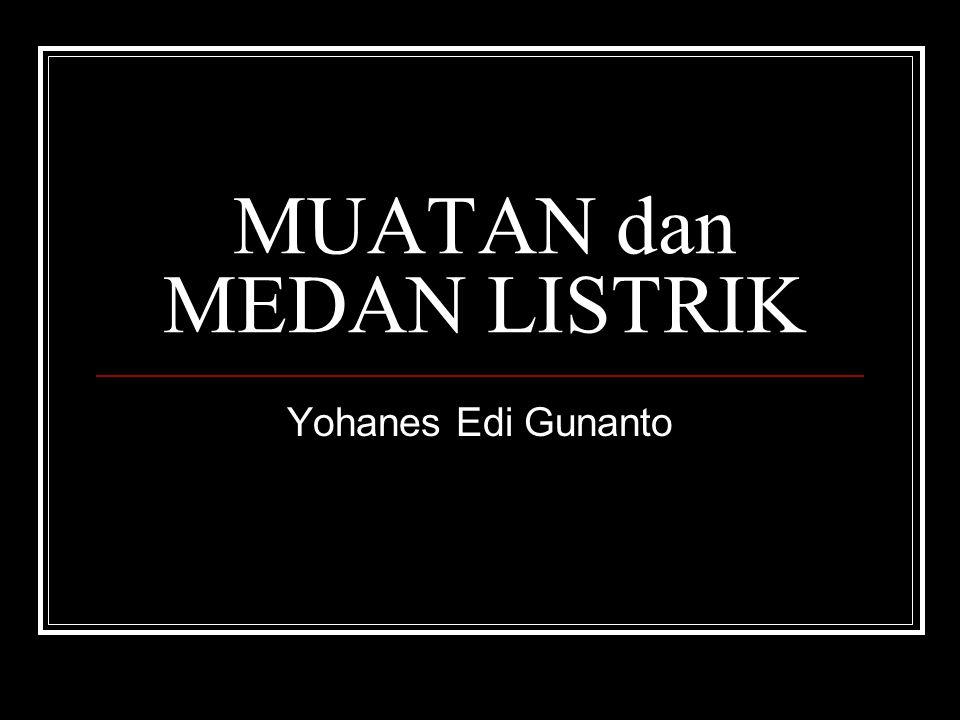 MUATAN dan MEDAN LISTRIK Yohanes Edi Gunanto