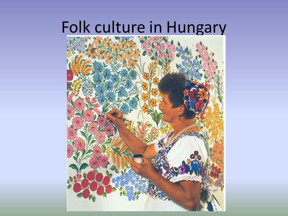 Folk culture in Hungary
