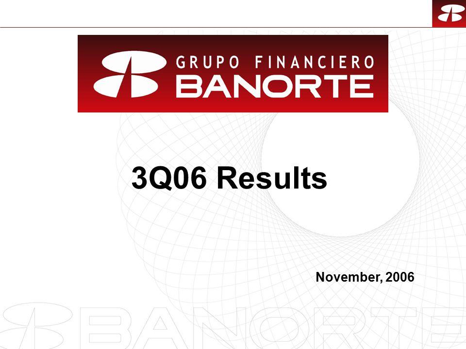 1 3Q06 Results November, 2006