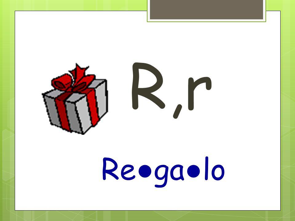 R,r Re ● ga ● lo