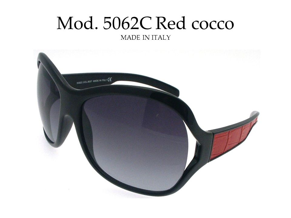 Mod. 5062C Red cocco MADE IN ITALY