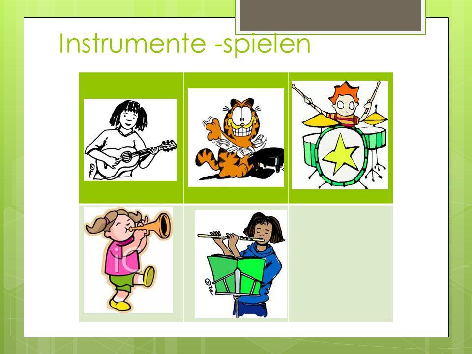 Instrumente -spielen