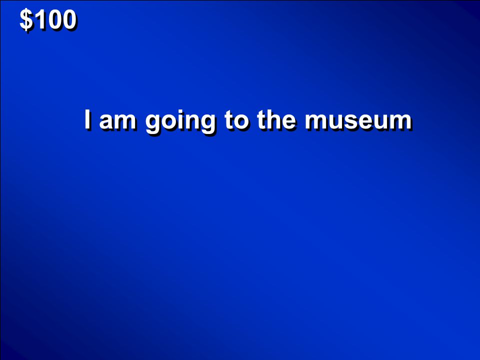 © Mark E. Damon - All Rights Reserved $100 I am going to the museum
