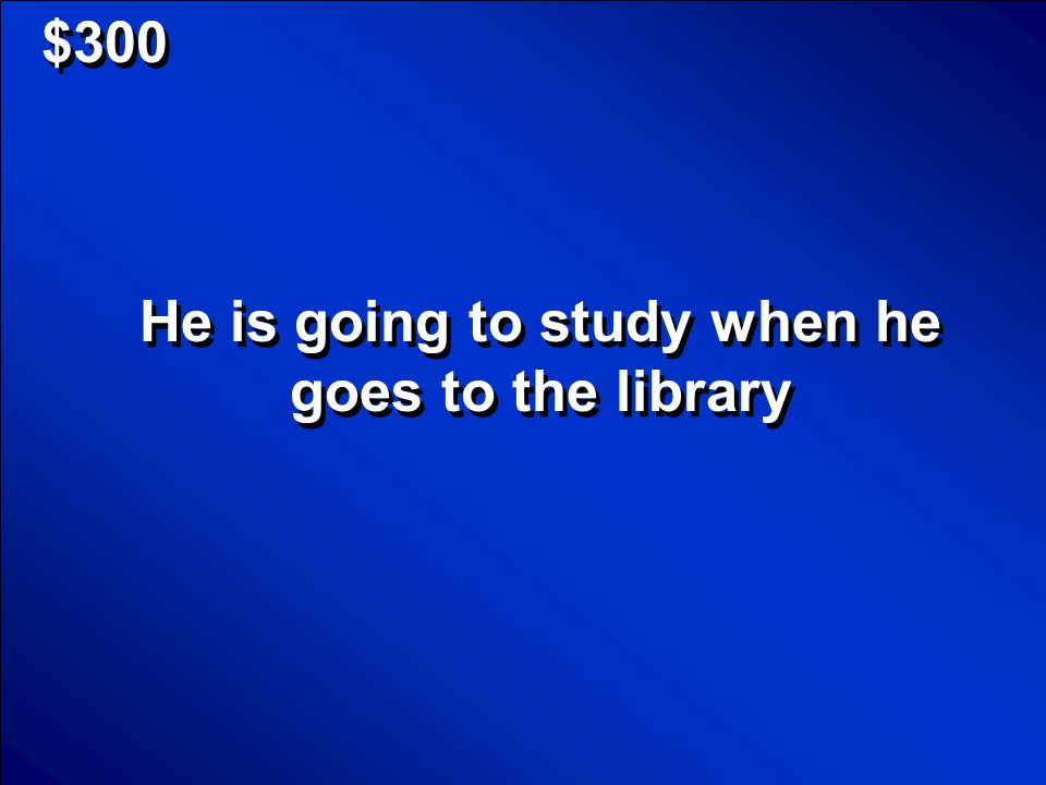 © Mark E. Damon - All Rights Reserved $300 He is going to study when he goes to the library
