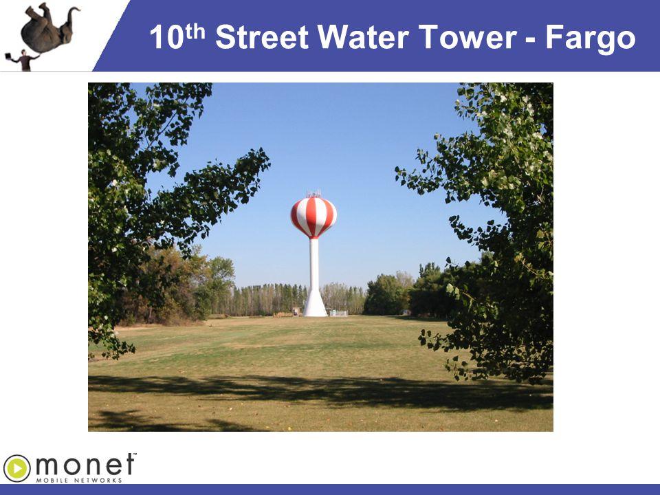 10 th Street Water Tower - Fargo