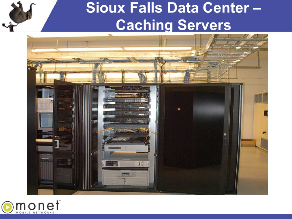 Sioux Falls Data Center – Caching Servers