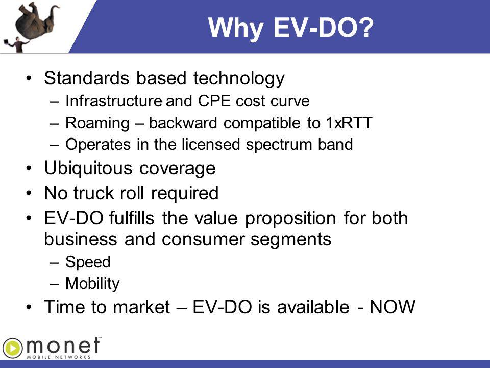 Why EV-DO.