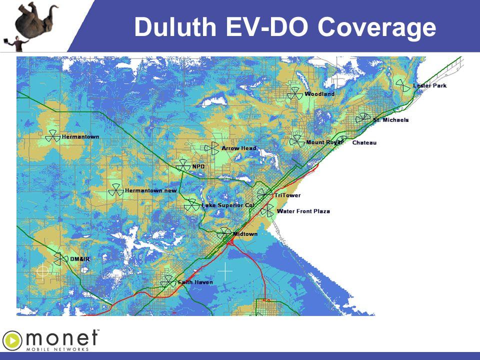 Duluth EV-DO Coverage