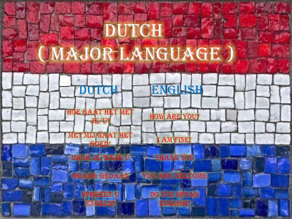 HalloHello HoiHi DaagBye Doei! See you later! DutchEnglish