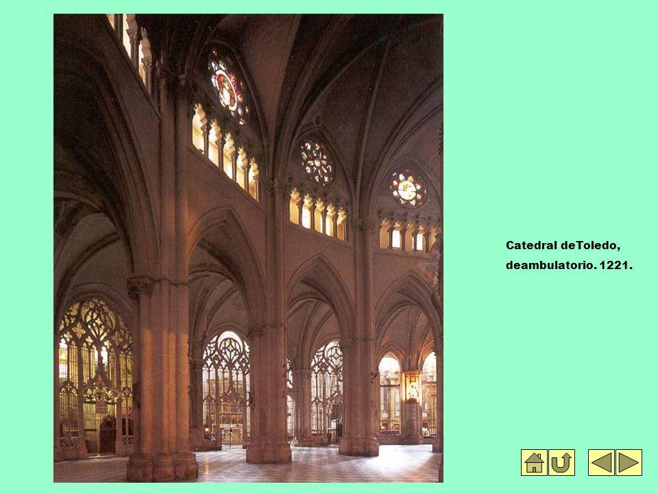 Catedral deToledo, deambulatorio. 1221.