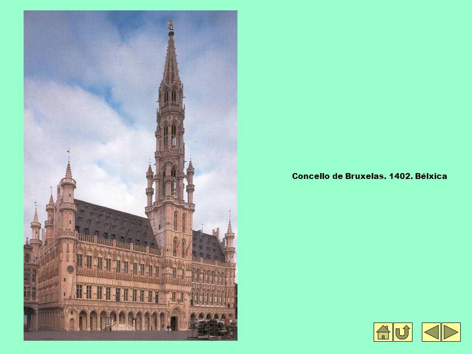 Concello de Bruxelas. 1402. Bélxica