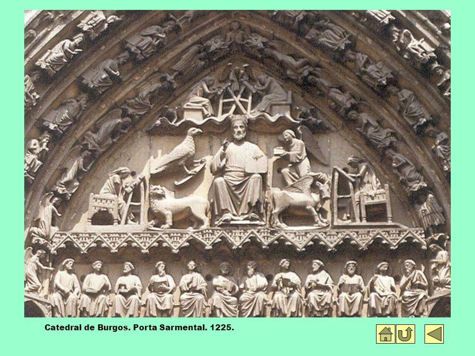 Catedral de Burgos. Porta Sarmental. 1225.