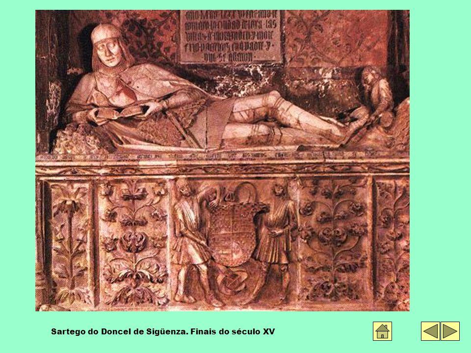 Sartego do Doncel de Sigüenza. Finais do século XV