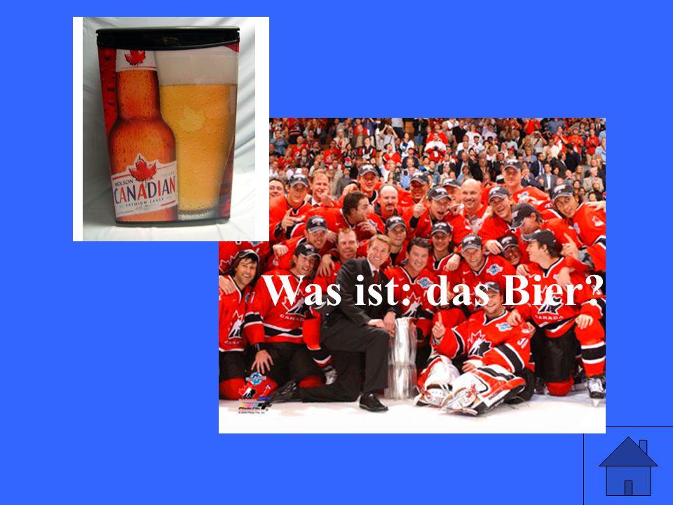 Was ist: das Bier