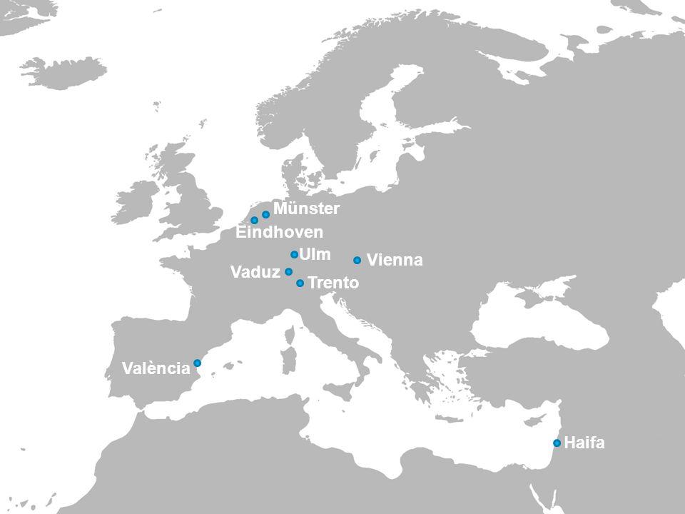 / name of department PAGE 320-4-2015 València Vienna Haifa Münster Eindhoven Ulm Vaduz Trento