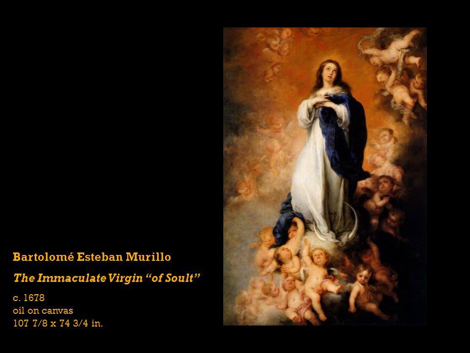 Bartolomé Esteban Murillo The Immaculate Virgin of Soult c.