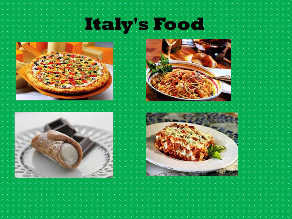 Italy s Food