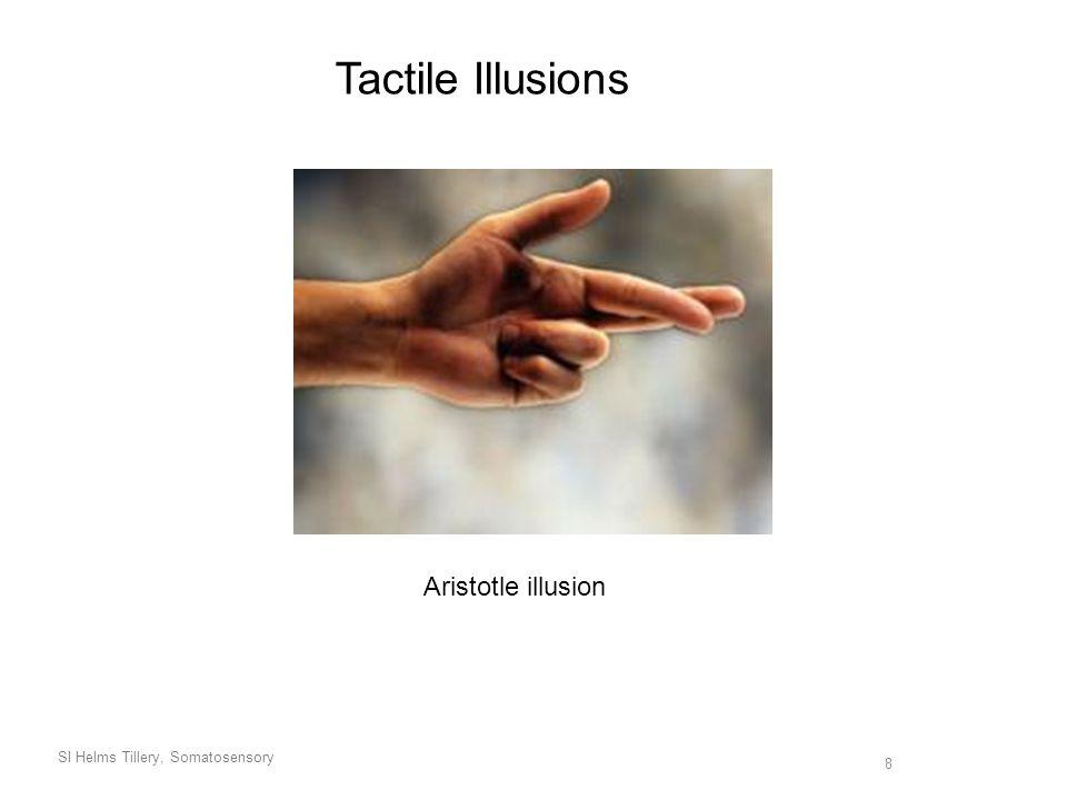SI Helms Tillery, Somatosensory 8 Tactile Illusions Aristotle illusion