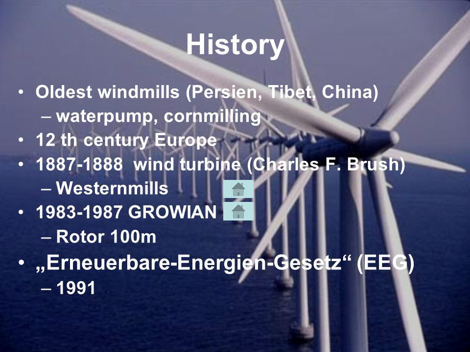 Today Offshore Advance of the technology –Same basis Windfarms