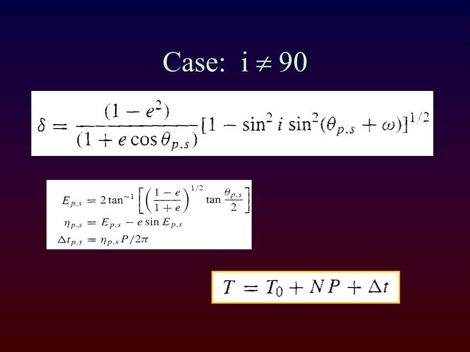 Case: i  90