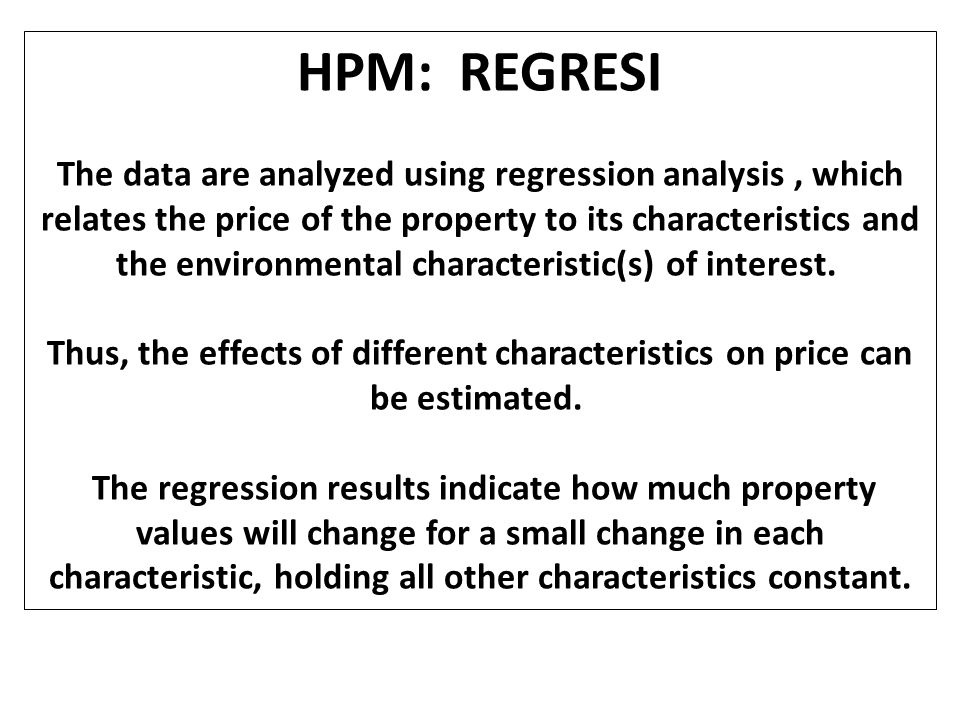 HPM: Analisis Data The analysis may be complicated by a number of factors.