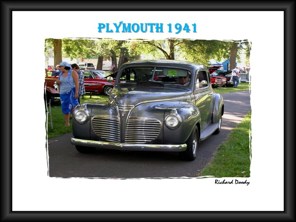 Plymouth 1941