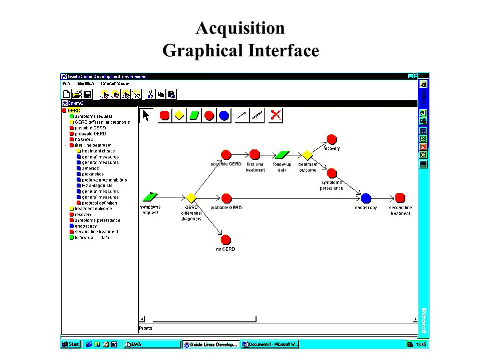 Acquisition Graphical Interface