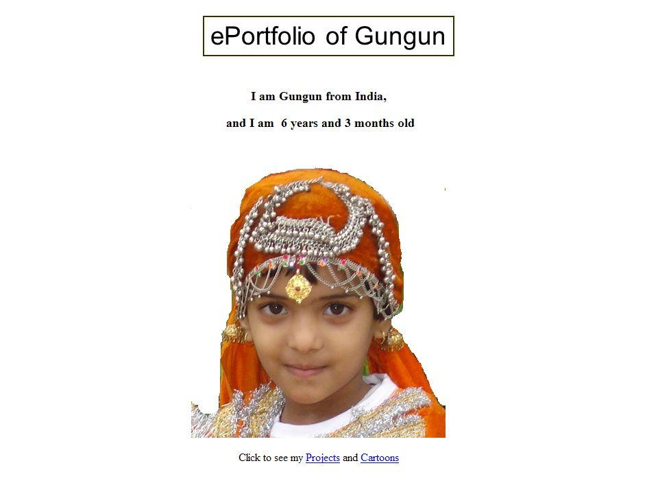 ePortfolio of Gungun