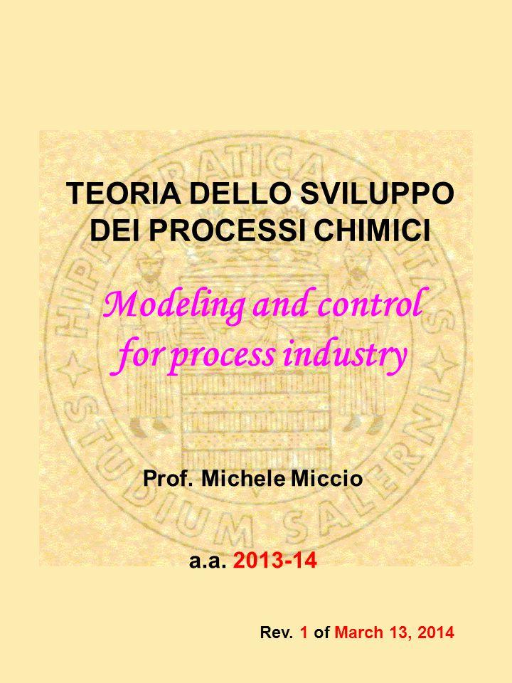 Prof. Michele Miccio a.a.