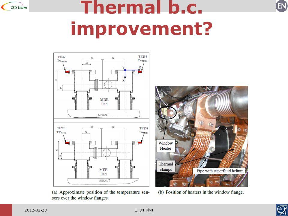 2012-02-23E. Da Riva Thermal b.c. improvement?