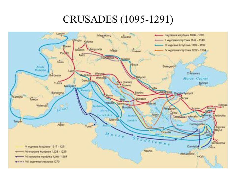 CRUSADES (1095-1291)