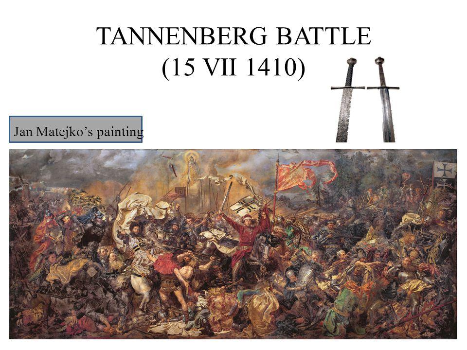 TANNENBERG BATTLE (15 VII 1410) Jan Matejko's painting