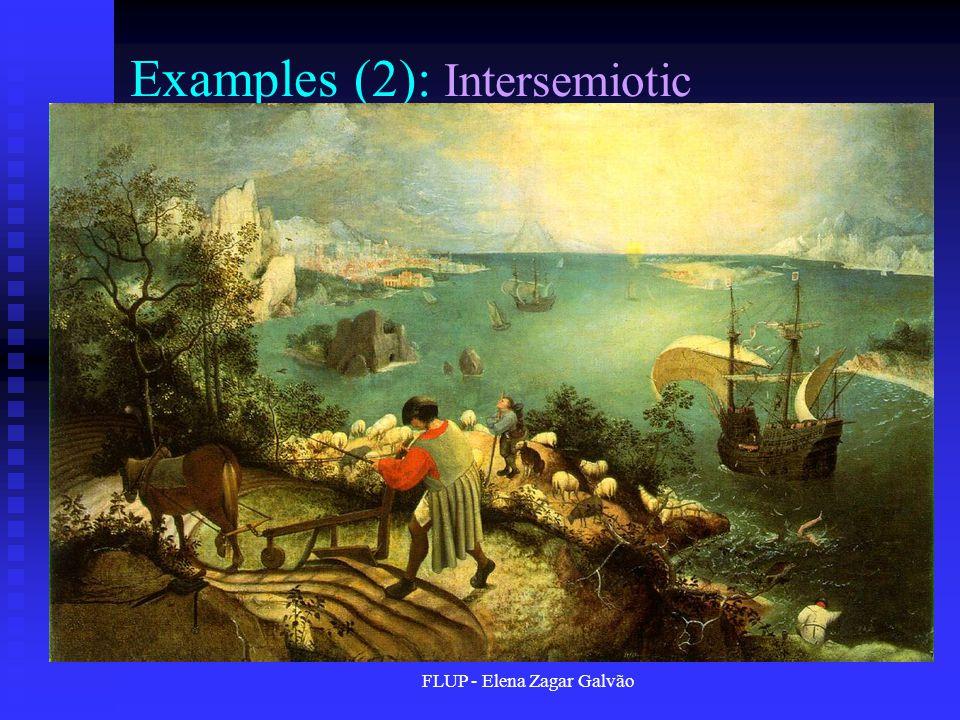 FLUP - Elena Zagar Galvão Examples (2): Intersemiotic