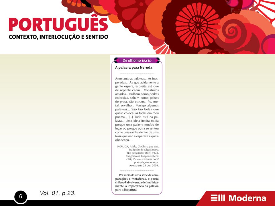 6 Vol. 01. p.23.