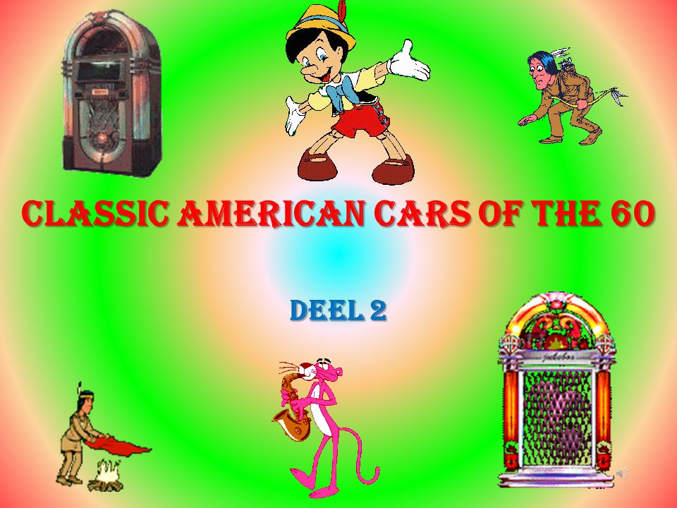 Classic American cars of the 60 Deel 2