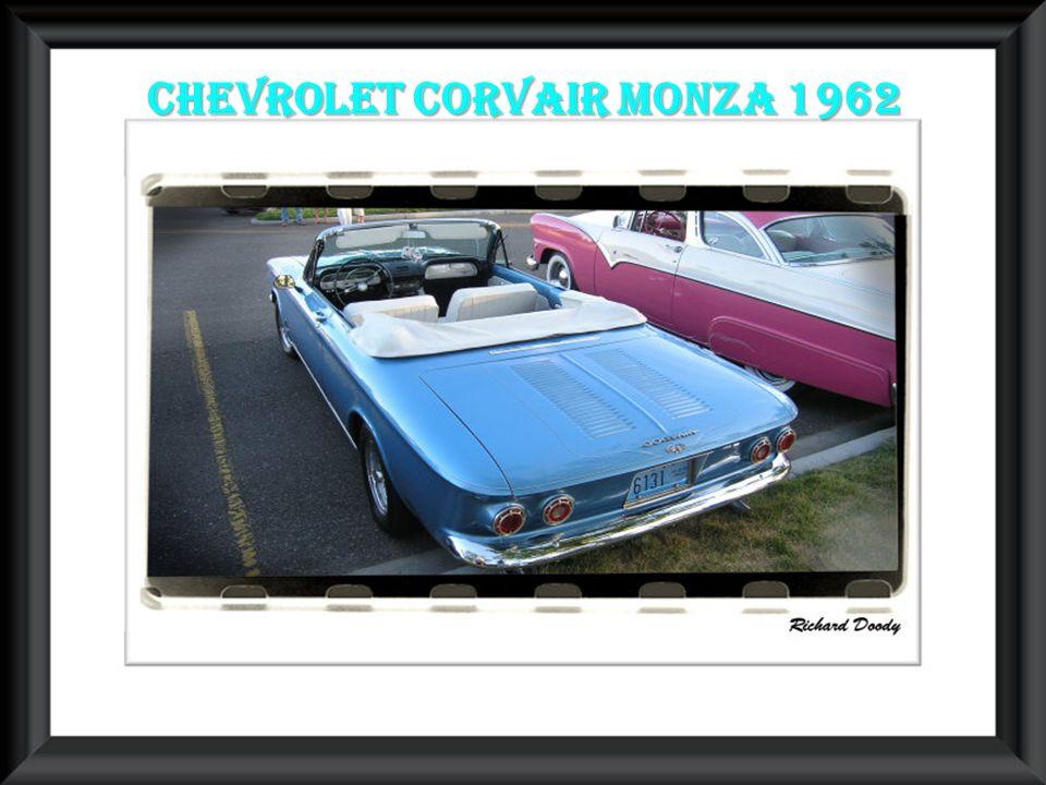 Chevrolet corvair Monza 1962